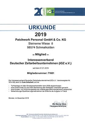 Vorschau - Mitglied Interessenverband Deutscher Zeitarbeitsunternehmen